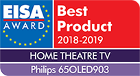 EISA Award Best Product 65 inch OLED TV