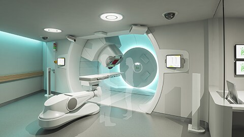 IBA (Ion Beam Applications SA) and Royal Philips (NYSE: PHG, AEX: PHIA) today announced the launch of a dedicated patient-centric Ambient Experience solution for the proton therapy gantry of IBA's Proteus®PLUS proton therapy solution, making the Philips solution now available for both Proteus®ONE* and Proteus®PLUS*.