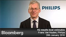 Frans van Houten comments on Q4 2015